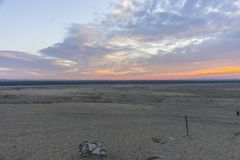 BÅ'Ä™dowska desert in the southern poland royalty free stock photography