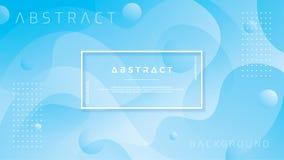 Błękitny abstrakcjonistyczny tło jest stosowny dla sieci, chodnikowiec, sieć sztandar, ląduje stronę, tło, plakaty, tapeta, stron ilustracja wektor