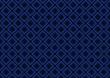 Błękitny Bezszwowy geometryczny deseniowy tło ilustracja wektor
