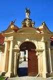 BÅ™evnovklooster (het Duits: Stift Breunau) is een Benedictinearchabbey in het BÅ™evnov-district van Praag, Royalty-vrije Stock Afbeeldingen