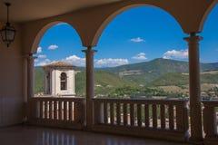Bågar Abbey Santa Rita Royaltyfria Bilder