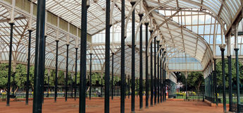 Bågar av det glass taket Fotografering för Bildbyråer