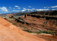 Bågar Utah Royaltyfri Fotografi