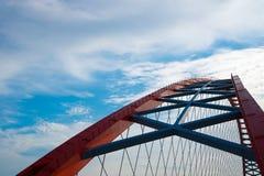 Båge av den röda bron Royaltyfria Foton