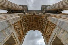 Båge av fred - Milan, Italien royaltyfria bilder