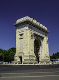 Båge av triumfen, Bucharest Royaltyfri Bild