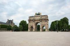 båge carrousel de du triomphe Royaltyfri Fotografi