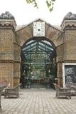Båge för London historisk barvisartavla Arkivbilder