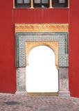 Båge i den stora moskén, Cordoba Royaltyfria Bilder