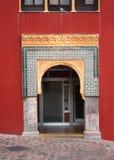 Båge i den stora moskén, Cordoba Royaltyfri Fotografi