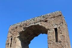 Båge i Pompeii Arkivfoto