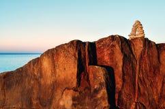 Båge på klippan Royaltyfri Foto