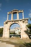 Bågen av Hadrian, Aten Arkivbild