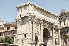 Båge av Septimius Severus Royaltyfri Bild