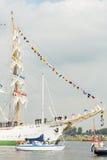 BÅGEN Gloria - segla Amsterdam 2015 Arkivfoton