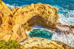Bågen i den stora havvägen, Victoria Australia Royaltyfria Bilder
