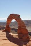 bågen välva sig den fina nationalparken utah Royaltyfria Bilder
