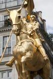bågjoan paris staty Royaltyfria Foton