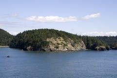 BågskyttfjärdPuget Sound hav Royaltyfria Foton