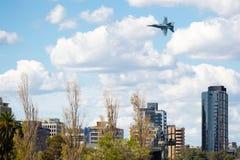Bålgeting för RAAF A21 McDonnell Douglas Boeing FA-18A Arkivfoto