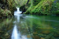 Bålskålnedgångar, Oregon Arkivfoton