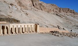 Bårhustempel av Hatshepsut arkivfoto