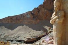 Bårhustempel av Hatshepsut royaltyfria bilder