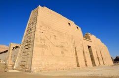 Bårhustempel av Ramses III fotografering för bildbyråer