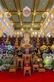 Bårhusurnan av den buddistiska suveräna patriarken av de buddistiska prästerna Royaltyfri Bild