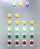 Bås av elektronisk botten Fotografering för Bildbyråer