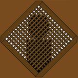 båsbiktfönster Arkivbild