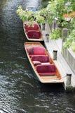 båtstakare två Arkivbild