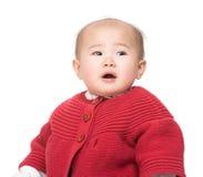 Bébé émotif image libre de droits