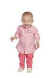 Bébé adorable battant la maladie photo libre de droits