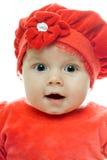 Bébé affectueux Images stock