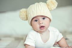 Bébé aimable images libres de droits