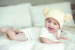 Bébé aimable photo stock