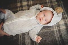 Bébé aimable photo libre de droits
