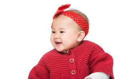 Bébé asiatique photographie stock libre de droits