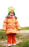 Bébé blond Images libres de droits