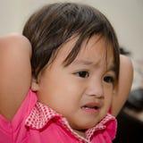 Bébé déprimé image libre de droits