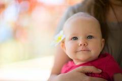 Bébé d'été Photographie stock