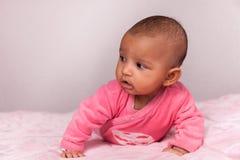 Bébé d'afro-américain - personnes de race noire photographie stock libre de droits