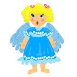 Bébé d'ange. caractère d'isolement Images stock