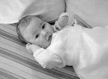 Bébé dans la robe Image libre de droits