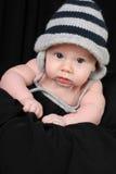 Bébé dans le chapeau Photographie stock