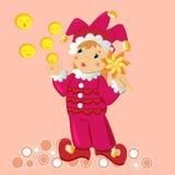 Bébé dans le costume de fantaisie de carnaval Photo libre de droits
