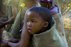 Bébé de débroussailleur Image libre de droits