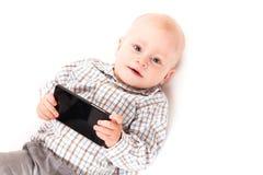 Bébé de Digital d'isolement Photos libres de droits