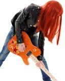 Bébé de guitare photographie stock